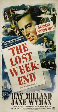 The Lost Weekend - 41 x 81 3 Sheet Movie Poster - Style A