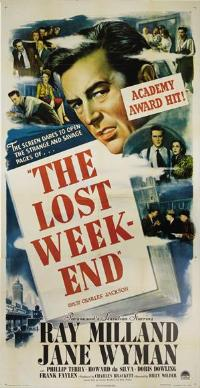 The Lost Weekend - 11 x 17 Movie Poster - Style C