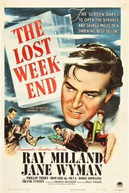 The Lost Weekend - 27 x 40 Movie Poster - Style E