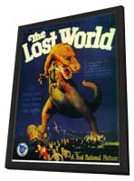 The Lost World - 11 x 17 Movie Poster - Style A - in Deluxe Wood Frame