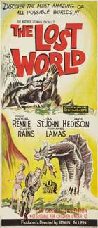 The Lost World - 13 x 28 Movie Poster - Italian Style A