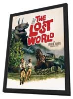The Lost World - 11 x 17 Movie Poster - Style C - in Deluxe Wood Frame