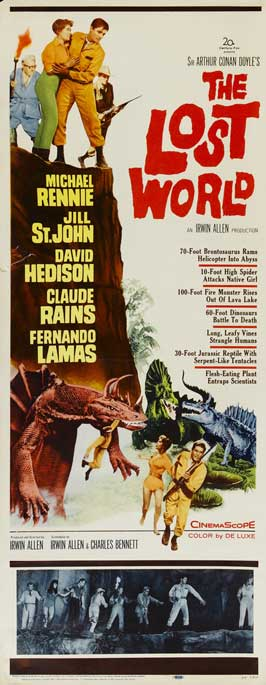 The Lost World - 14 x 36 Movie Poster - Insert Style A