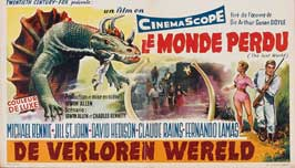 The Lost World - 11 x 17 Movie Poster - Belgian Style A