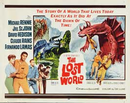 The Lost World - 22 x 28 Movie Poster - Half Sheet Style A
