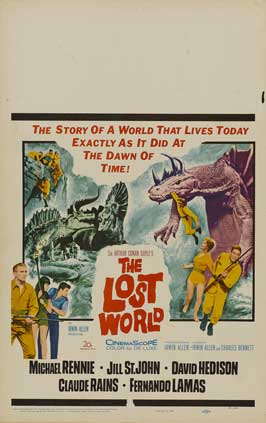 The Lost World - 27 x 40 Movie Poster - Style D