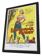 The Louisiana Hussy - 27 x 40 Movie Poster - Style A - in Deluxe Wood Frame