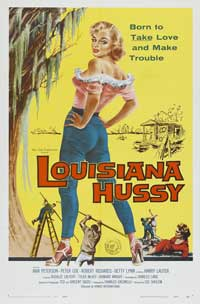 The Louisiana Hussy - 43 x 62 Movie Poster - Bus Shelter Style A