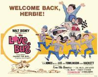 The Love Bug - 11 x 14 Movie Poster - Style J