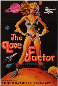 The Love Factor - 43 x 62 Movie Poster - Bus Shelter Style A