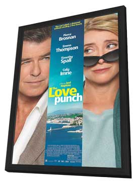 The Love Punch - 11 x 17 Movie Poster - Style A - in Deluxe Wood Frame