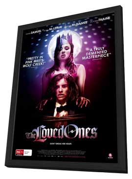The Loved Ones - 11 x 17 Movie Poster - Australian Style A - in Deluxe Wood Frame