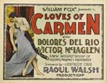 The Loves of Carmen - 11 x 14 Movie Poster - Style B