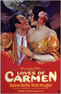 The Loves of Carmen - 43 x 62 Movie Poster - Bus Shelter Style A