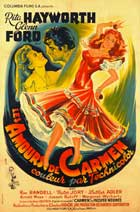 The Loves of Carmen - 27 x 40 Movie Poster - French Style B