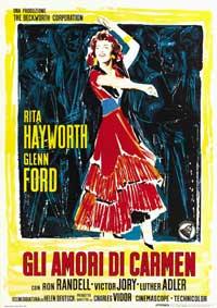 The Loves of Carmen - 11 x 17 Movie Poster - Italian Style B