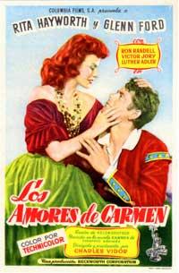 The Loves of Carmen - 11 x 17 Movie Poster - Spanish Style B