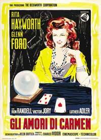The Loves of Carmen - 27 x 40 Movie Poster - Italian Style B