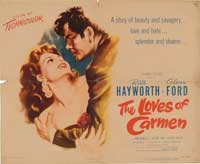 The Loves of Carmen - 11 x 17 Movie Poster - Style A