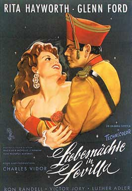 The Loves of Carmen - 11 x 17 Movie Poster - German Style A