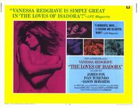 Loves of Isadora, The - 11 x 14 Movie Poster - Style A