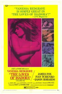 Loves of Isadora, The - 11 x 17 Movie Poster - Style A