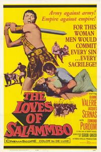 Loves of Salammbo - 27 x 40 Movie Poster - Style A