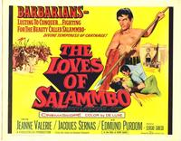 Loves of Salammbo - 27 x 40 Movie Poster - Style B