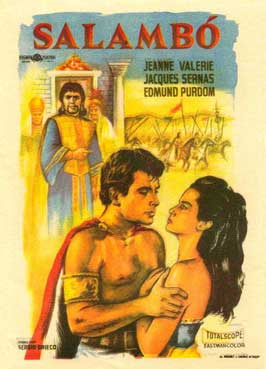 Loves of Salammbo - 11 x 17 Movie Poster - Spanish Style A