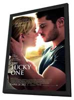 The Lucky One - 11 x 17 Movie Poster - Style A - in Deluxe Wood Frame
