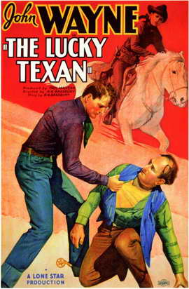 The Lucky Texan - 11 x 17 Movie Poster - Style A