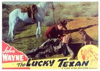 The Lucky Texan - 11 x 14 Movie Poster - Style A