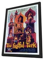 The Lustful Turk - 11 x 17 Movie Poster - Style A - in Deluxe Wood Frame