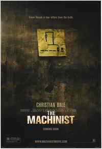 The Machinist - 43 x 62 Movie Poster - Bus Shelter Style A