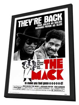 The Mack - 27 x 40 Movie Poster - Style A - in Deluxe Wood Frame