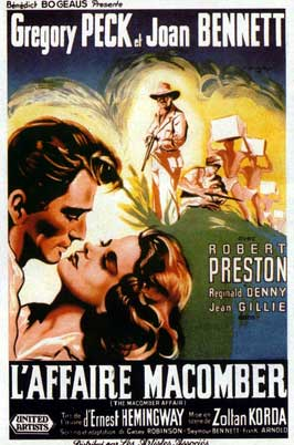 The Macomber Affair - 11 x 17 Movie Poster - French Style A