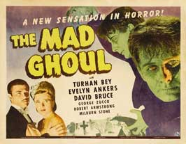 The Mad Ghoul - 22 x 28 Movie Poster - Half Sheet Style A