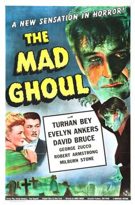 The Mad Ghoul - 27 x 40 Movie Poster - Style A