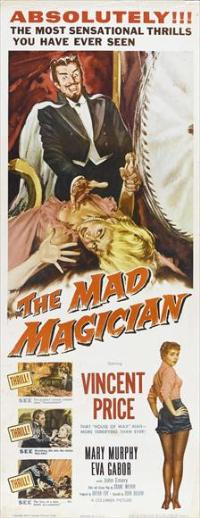 The Mad Magician - 14 x 36 Movie Poster - Insert Style A