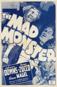 The Mad Monster - 11 x 17 Movie Poster - Style A