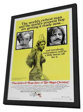 The Magic Christian - 27 x 40 Movie Poster - Style B - in Deluxe Wood Frame