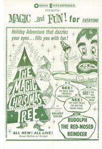 The Magic Christmas Tree - 11 x 17 Movie Poster - Style B
