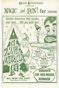 The Magic Christmas Tree - 27 x 40 Movie Poster - Style A