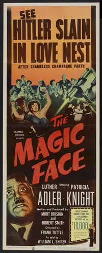 The Magic Face - 14 x 36 Movie Poster - Insert Style A