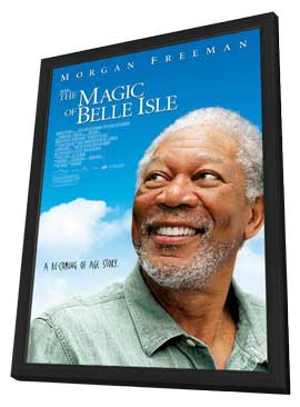 The Magic of Belle Isle - 27 x 40 Movie Poster - Style A - in Deluxe Wood Frame