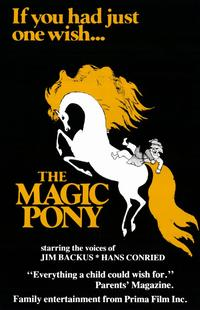 The Magic Pony - 11 x 17 Movie Poster - Style A