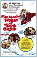 The Magic World of Topo Gigio - 11 x 17 Movie Poster - Style A