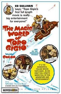The Magic World of Topo Gigio - 27 x 40 Movie Poster - Style A