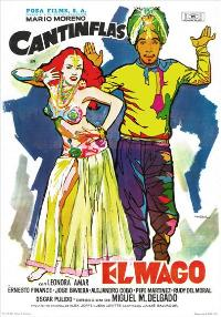 The Magician - 27 x 40 Movie Poster - Spanish Style A