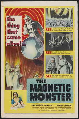 The Magnetic Monster - 27 x 40 Movie Poster - Style A
